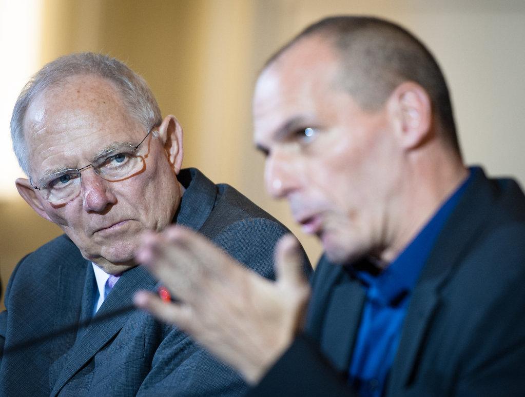 PK Schaeuble, Varoufakis