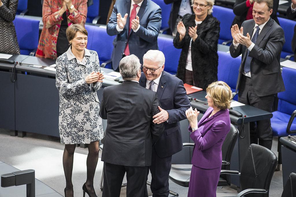 Vereidigung Bundespraesident