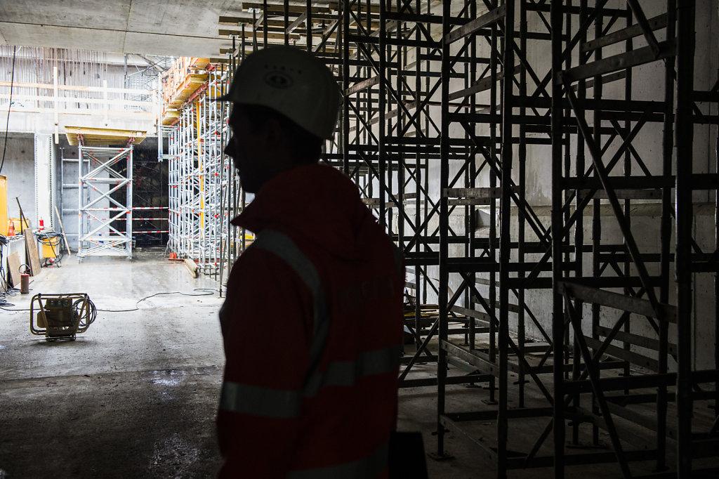 Baustelle Bauarbeiter
